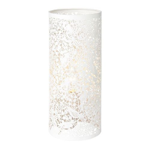 Matt ivory paint Tablelamp BX55473-17 by Endon (Class 2 Double Insulated)